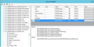 a visual sql query designer u2013 code project sql from nav part iii