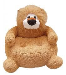 kids u0027 plush lion chair lion stuffed animals