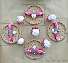easter napkin rings easter kids table setting view from the fridgeview from the fridge