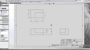 solidworks engineering drawing images
