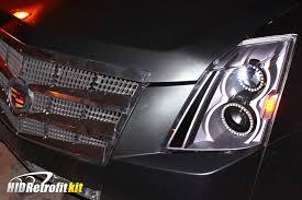 cadillac cts lights 2008 2011 cadillac cts black custom made hid retrofit led