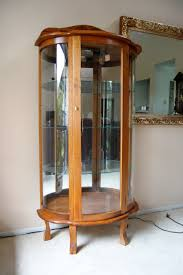 curio cabinet curios with lights glass for sale corner lighting