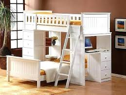 Bunk Bed With Desk And Trundle Loft Bed With Desk And Dresser Bunk Bed With Desk Underneath