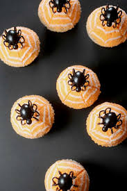 Halloween Cakes Recipes Kids by Halloween Halloween Gallery Stenciled Chocolate Cupcakes Recipe