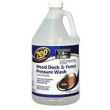 Zep Hardwood Laminate Floor Cleaner Zep 128 Oz Deck And Fence Cleaner Zudfw128 The Home Depot
