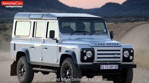 land rover defender 2010 2010 land rover defender ice edition youtube