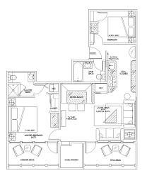 Borgata Floor Plan Biscayne Suites Presidential Suite