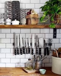 tips to use the kitchen backsplash for storage
