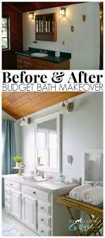 cheap bathroom makeover ideas 28 best budget bathroom makeover ideas and designs for 2017