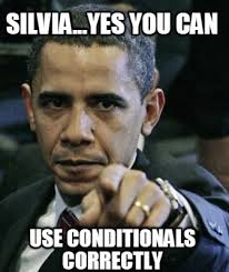 Online Meme Creator - meme creator silvia yes you can use conditionals correctly