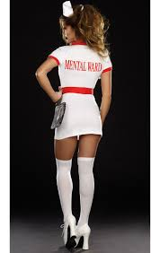 nurse norma lee crazy costume n9157