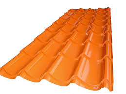 Metal Roof Tiles Coloured Metal Roof Tile Buy Steel Roofing Product On Alibaba