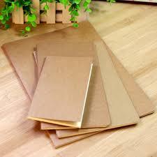bureau en gros agenda vintage papier kraft portable papeterie étudiant et agenda