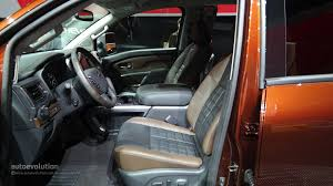 nissan truck 2016 interior 2016 nissan titan xd cummins light duty truck has heavy duty