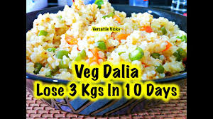 how to lose weight fast 3kg in 10 days with dalia indian