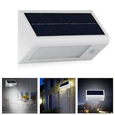 Motion Sensor Patio Light Innogear 400 Lumen Waterproof Solar Powered Outdoor Motion Sensor