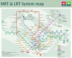 Singapore Mrt Map Singapore Explore The World With Me