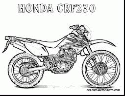 brilliant dirt bike coloring pages printable with dirt bike
