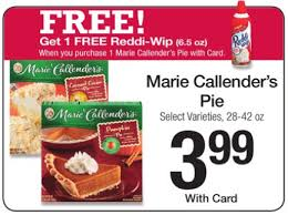 reset coupon pay as low as 3 24 for both callender s pie