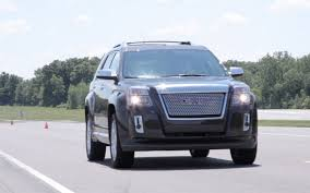 gmc claims 6 7 second 0 60 time for 2013 terrain 3 6 truck trend