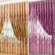 buy for front room window curtains tulle sheer curtains cortinas