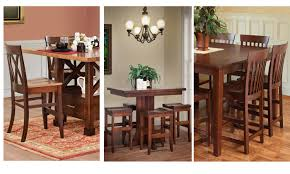 counter height gathering table custom counter height gathering tables heritage allwood furniture