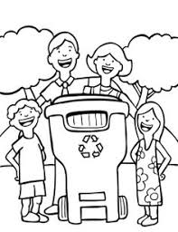recycle coloring pages for preschoolers shauna pinterest