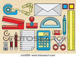 fournitures bureau dessins divers fournitures bureau smi0004 recherche de clip
