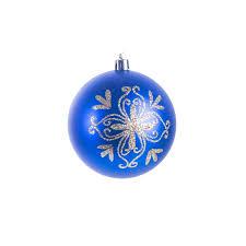 dannike icy winter ornament blue tree ornaments