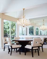 perfect dining room ideas with wooden round table and stunning