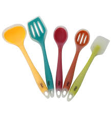 ustensil cuisine silicone cooking utensils set of 5 for the kitchen one tools