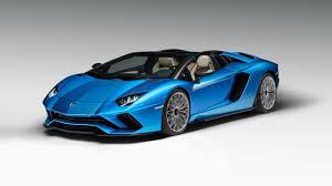 Lamborghini Aventador Sv Top Speed - the new lamborghini aventador s roadster is here top gear