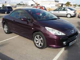 second hand peugeot for sale second hand peugeot 307 cc for sale san javier murcia costa blanca