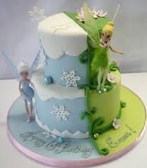 tinkerbell u0026 periwinkle cake cakes tinkerbell