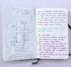 the journal diaries notebooks watercolors and sketches by