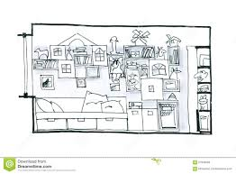 room for children graphic picture stock illustration image 57535590