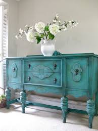 Shabby Chic Blue Paint by Buffet Makeover Using Miss Mustardseed U0027s Milk Paint In Typewriter