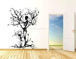 paper craft for home decoration life size tree wall decals big wall art stickers paper craft