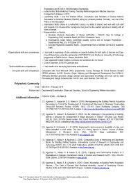 Resume Summer Job by Europass Cv Updated Current