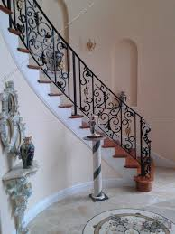 wrought iron stair railing southeastern ornamental iron works