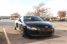audi brookfield audi r8 spotted in brookfield wisconsin on 11 12 2016