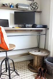 construire bureau construire bureau avec meuble bureau industriel et bureau mural