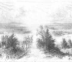 pencil drawings of scenery drawing pencil