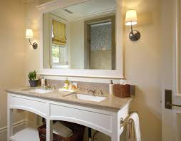 Large Framed Bathroom Mirror Large Bathroom Vanity Mirrors Or Image Of Bathroom Mirrors