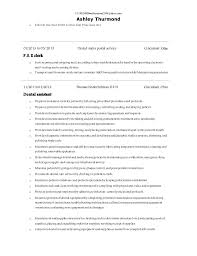 Sample Resume For Office Work by Ashley Thurmond 2014 Resume For Office Work