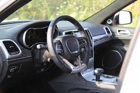 srt jeep 2016 interior review 2015 jeep grand cherokee srt canadian auto review