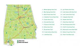 State Park Map by Report 15 State Parks On Closure List Including Guntersville