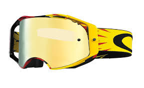goggles motocross oakley airbrake mx high voltage red yellow 24k iridium buy cheap