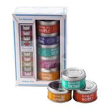 tea gift sets kusmi tea gift set wellness teas gourmet boutique