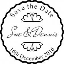 Save The Date Stamps Save The Date Rubber Stamps For Wedding